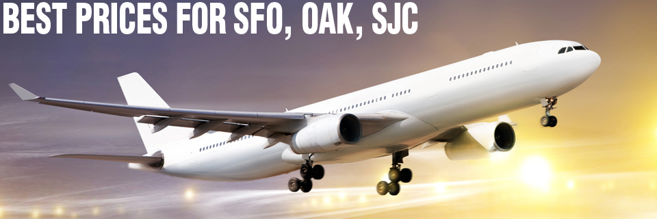 Best Airport Shuttle Prices For SFO, OAK , SJC